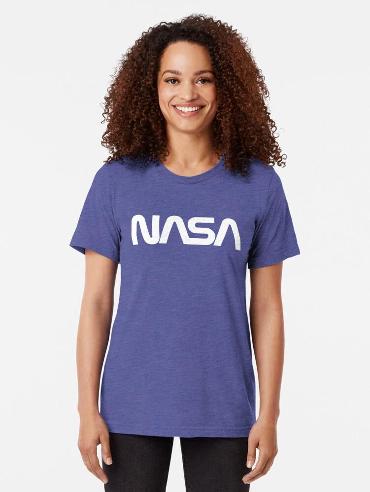 Alternate view of NASA Tri-blend T-Shirt
