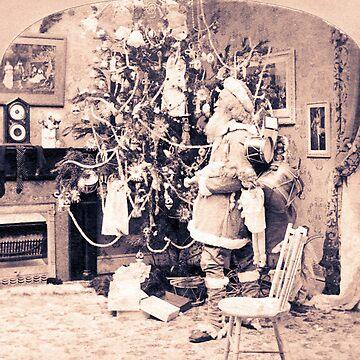 Vintage Santa by catsbacknc