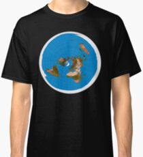 Flat Earth Map - #1 Azimuthal Equidistant Projection Classic T-Shirt