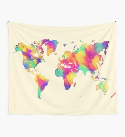 map 56 Wall Tapestry