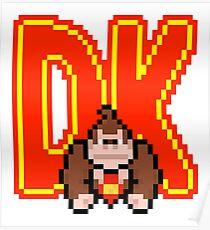 DK Donkey Kong Poster
