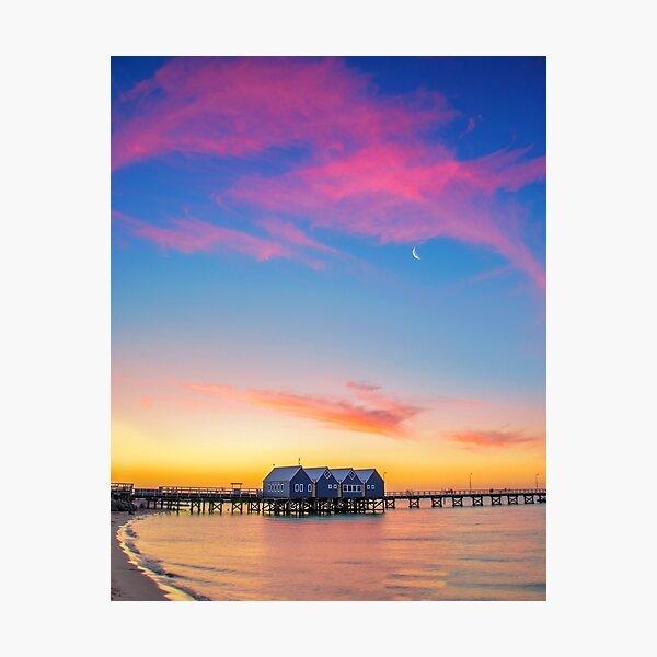 Busselton Sunset, Southwest, Western Australia Photographic Print