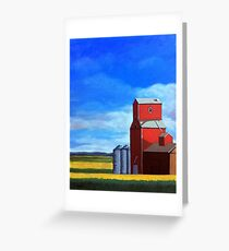 Standing Tall - rural countryside farm landscape Greeting Card