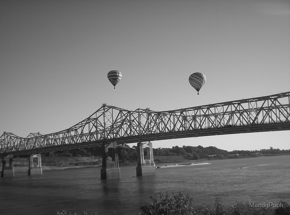 Over the Mississippi  by MandyPooh
