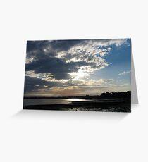 Cloudy Evening over Clontarf Greeting Card