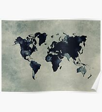 world map 60 Poster