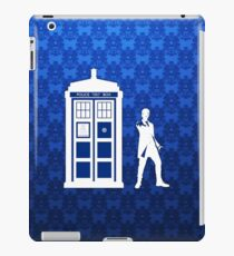 Tardis And The Doctor iPad Case/Skin