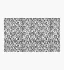 The Beat Goes On! Snare Drum Seamless Pattern Photographic Print