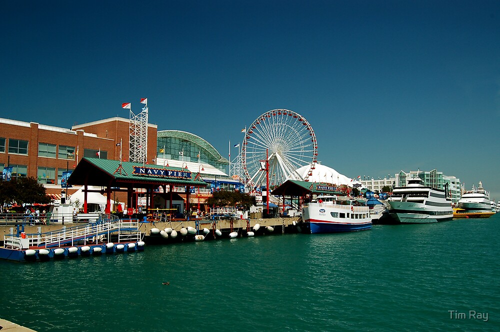 Navy Pier by Tim Ray