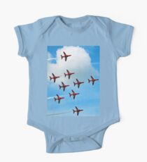 Red Arrows Flanker Bend One Piece - Short Sleeve