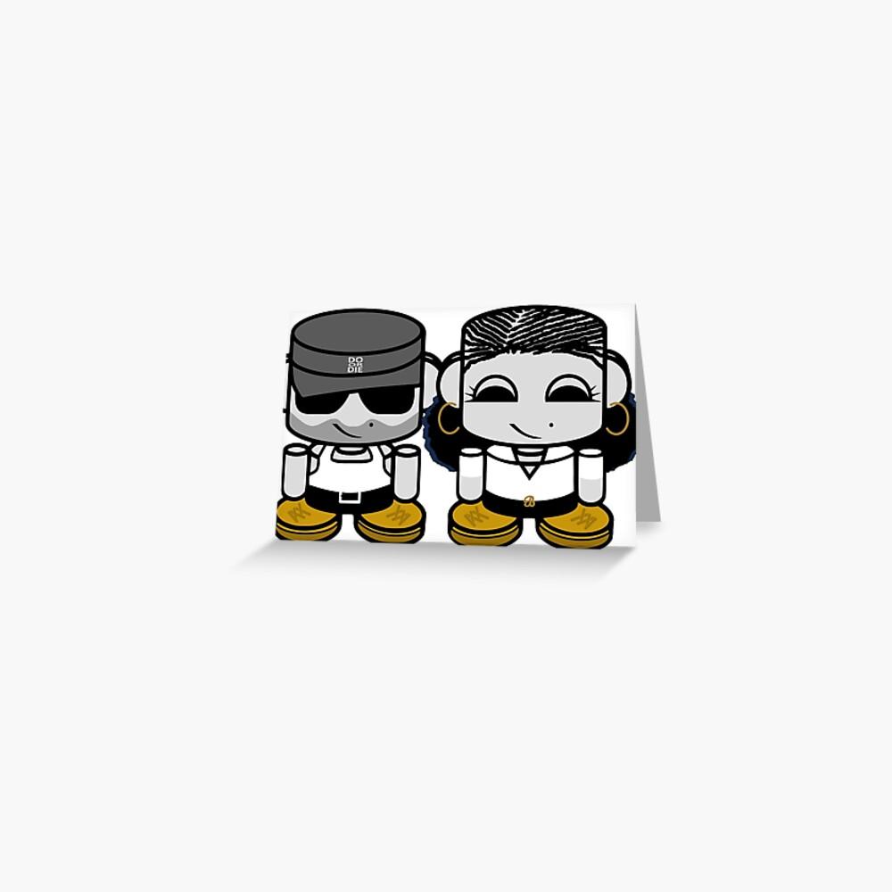 Joe & Belle Stuy O'BABYBOT Toy Robots 1.0 Greeting Card
