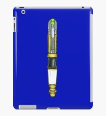 Sonic Screwdriver 11th Doctor v1 iPad Case/Skin