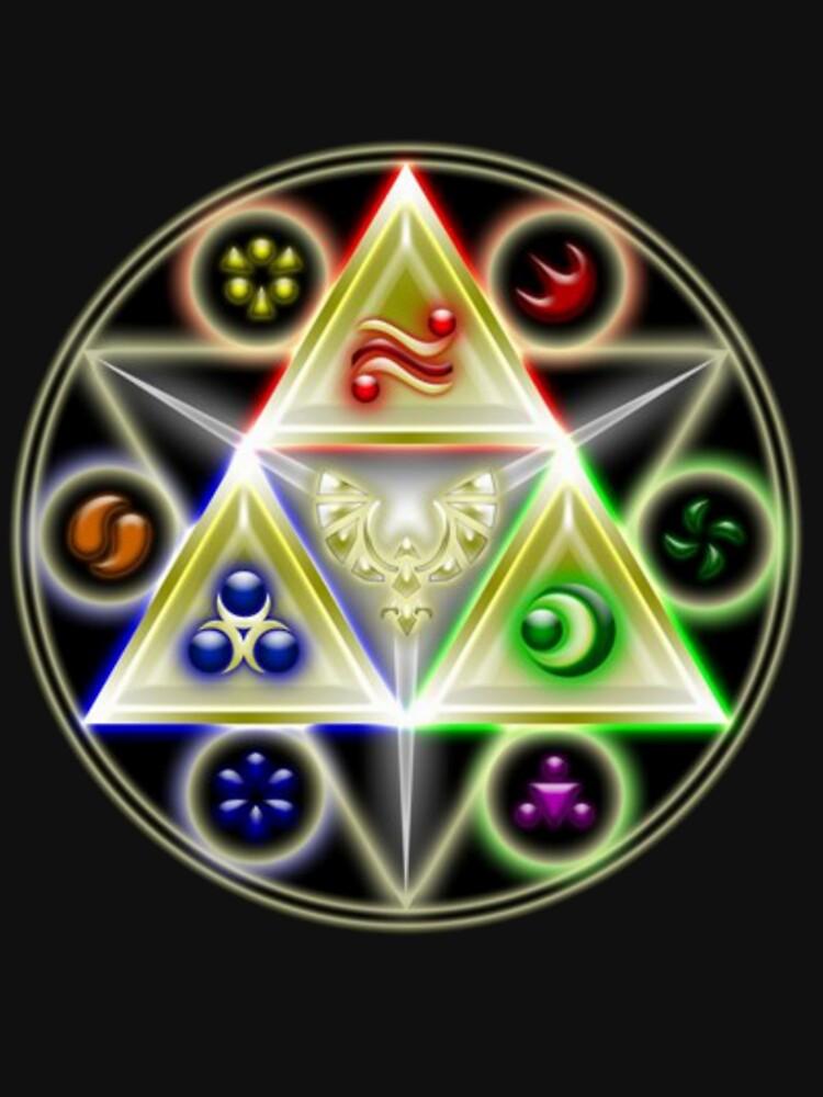 The Legend of Zelda: Ocarina of Time - Spiritual StoneTriforce! | Unisex T-Shirt