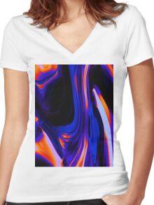 Fraja Women's Fitted V-Neck T-Shirt
