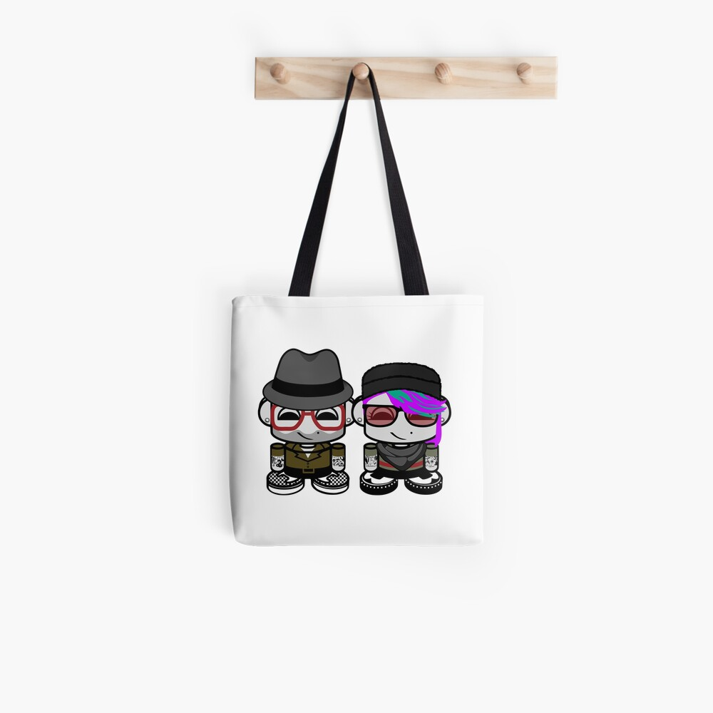 Harlem & Jemma Moon O'BABYBOT Toy Robot 1.0 Tote Bag