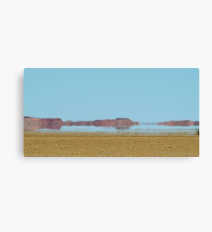 Mirage, Outback Queensland Canvas Print