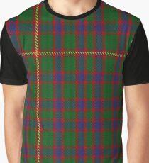 Hall (1994) Clan/Family Tartan  Graphic T-Shirt