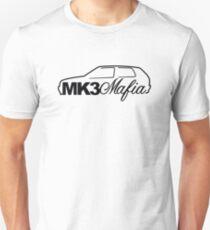 Mk3 Mafia for VW mk3 Golf GTi enthusiasts Unisex T-Shirt