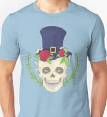 Skull rock - Skull flowers - skull topper T-Shirt