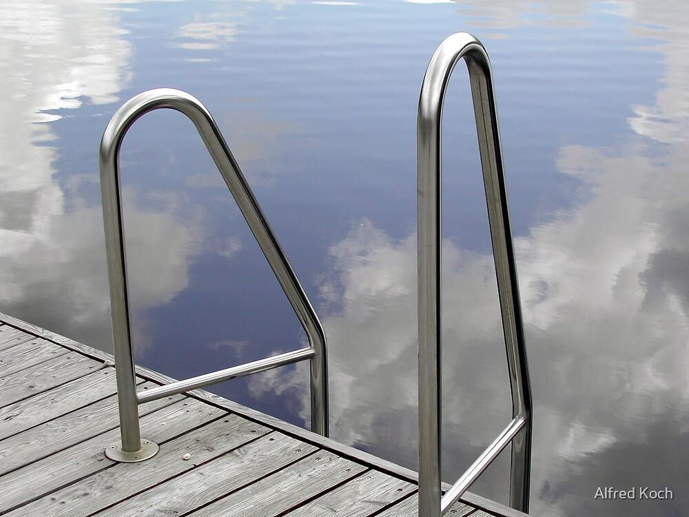 pool like a mirror by Alfred Koch