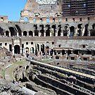 Inside the Colosseum by Steve plowman
