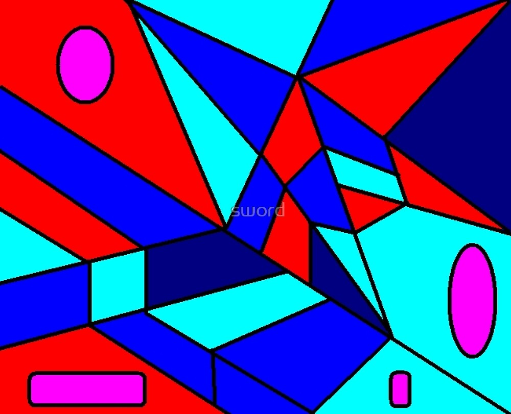 Abstract 7 by sword