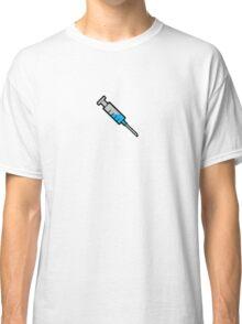 Injection Logo - Blue Classic T-Shirt