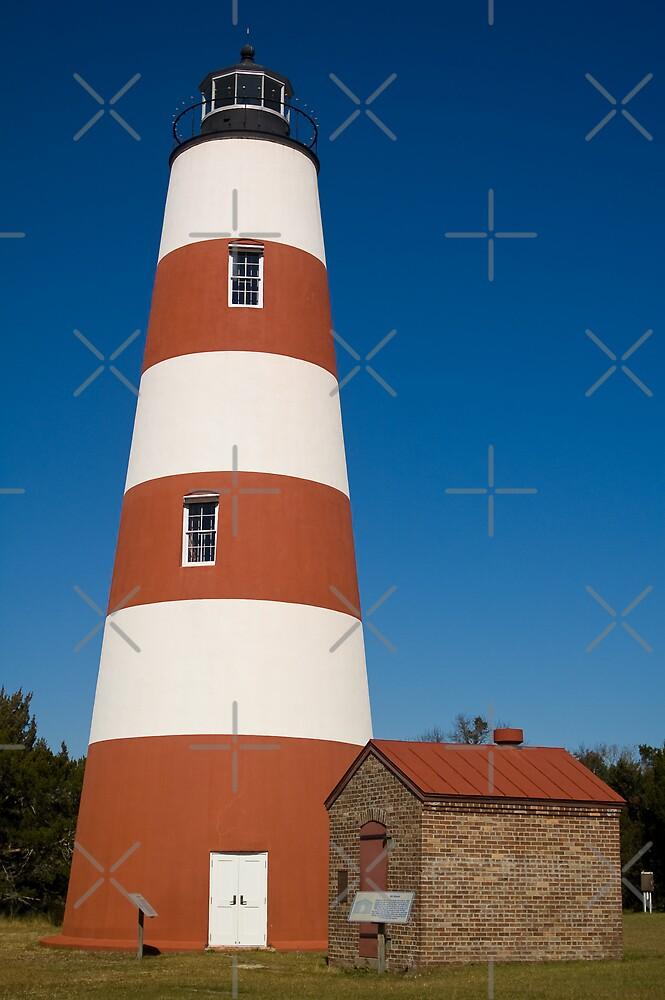 """The Sapelo Island Lighthouse by Arthur """"Butch"""" Petty"""