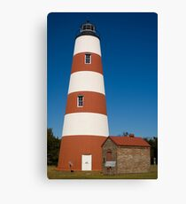 The Sapelo Island Lighthouse Canvas Print