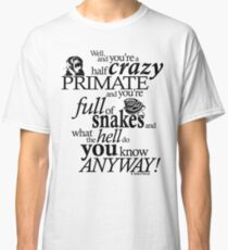 Crazy Primate (1) Classic T-Shirt