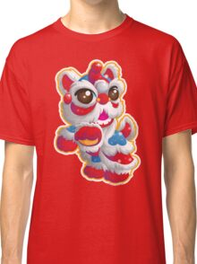 Cute Lion Dancer Classic T-Shirt