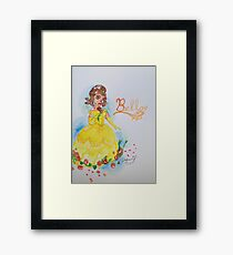 Beauty and the Beast: Belle Framed Print