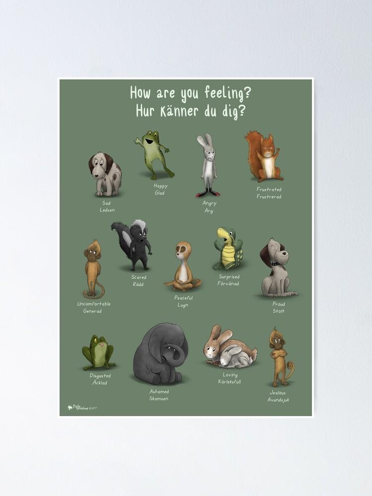 Alternate view of How Are You Feeling?/Hur Känner Du Dig? Poster