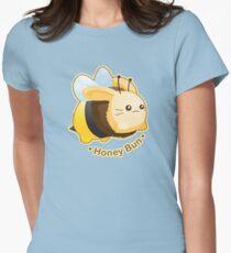 Cute Honey Bun Bunny Womens Fitted T-Shirt