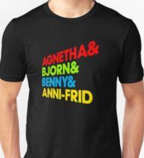 agnetha bjorn benny anni-frid Unisex T-Shirt