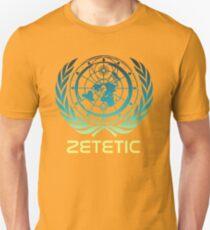 Flat Earth Designs - Zetetic Astronomy ( Flat Earth Map ) Unisex T-Shirt