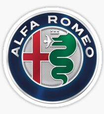 New Alfa Romeo Logo Sticker