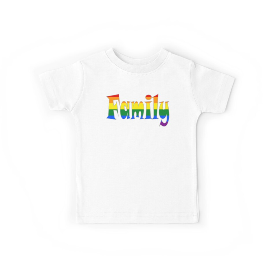 Rainbow Family Gay / lesbian Interest - from Bent Sentiments by bentsentiments