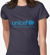 Unicef for Better Children Future Womens Fitted T-Shirt