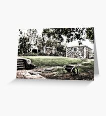 Cossack Historic Town Greeting Card