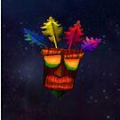 Aku Aku- Crash bandicoot by kiddchino