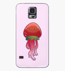 Cute Strawberry Jellyfish  Case/Skin for Samsung Galaxy