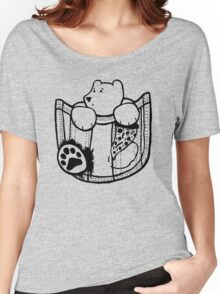 Pocket Bear - Centered Women's Relaxed Fit T-Shirt