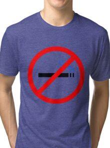 No Smoking Tri-blend T-Shirt