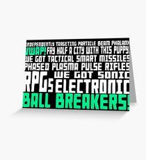 Bill... Greeting Card