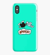 charlie brown  fall iPhone Case/Skin