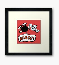 charlie brown  fall Framed Print