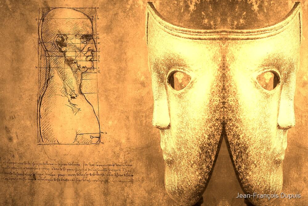 Masks by Jean-François Dupuis
