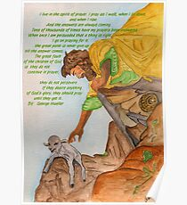 Jesus and Prayer Poster