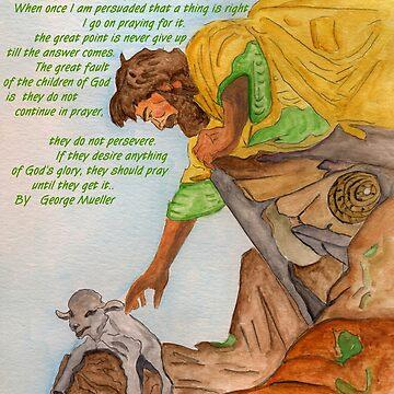 Jesus and Prayer by AnneG
